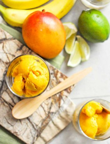 Mango Lime softserve N'ice cream