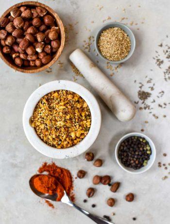 dukkah spice close