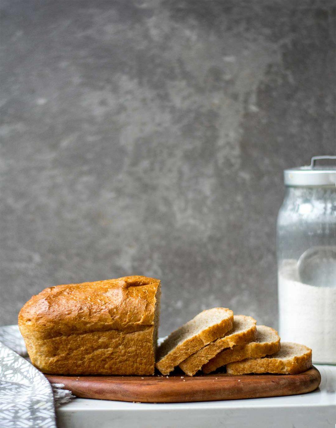 sliced bread side